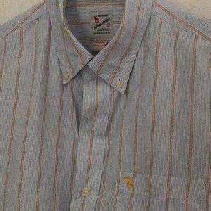 Abercrombie Mens Striped Shirt